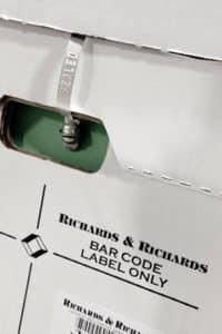 Security Box Seals (need 2 per box)
