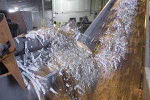 Plant based document shredder