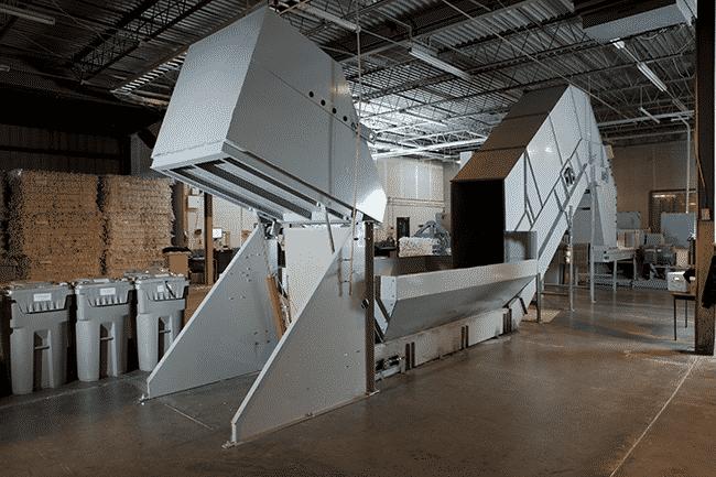 Offsite Plant Based Paper Shredding Machine