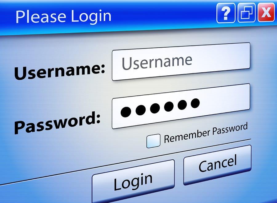 Computer Web Signin User Security